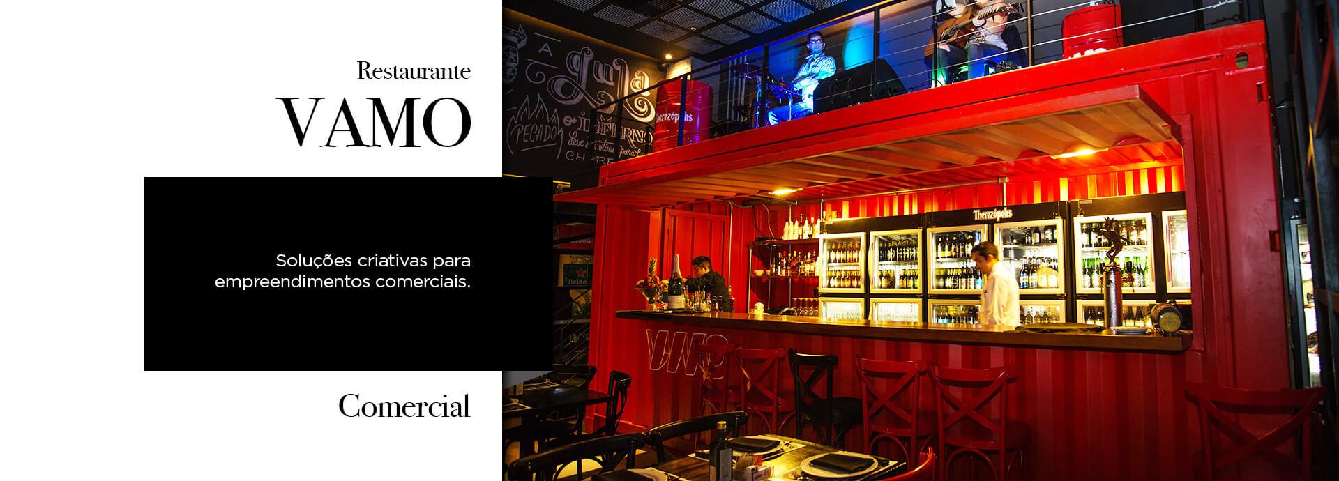 Projeto Container Comercial Bar Vamo