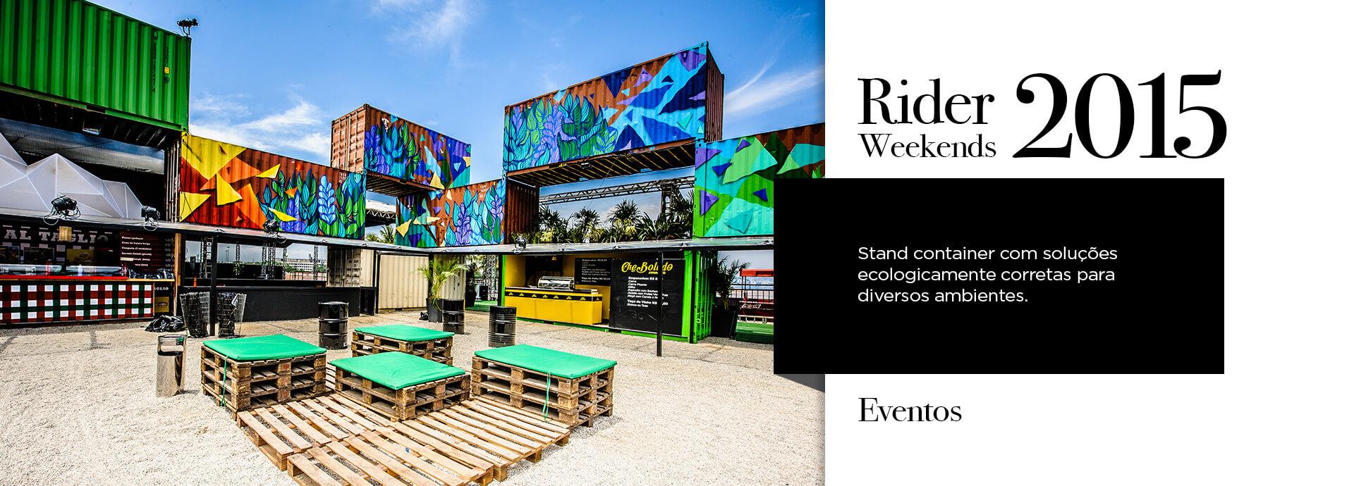 Projeto Container Eventos Rider