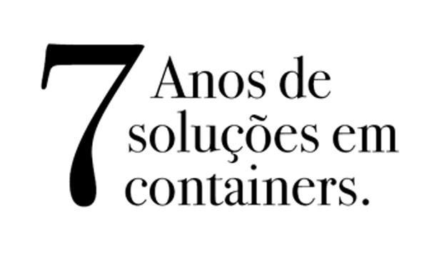 Rentcon locações – 7 anos de soluções em container.