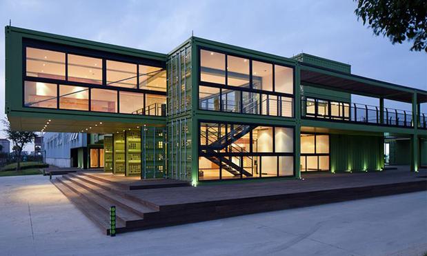 Containers para negócios: lindos hotéis sustentáveis e modernos.