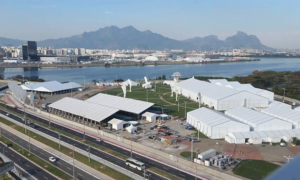 Locação de container para eventos esportivos.