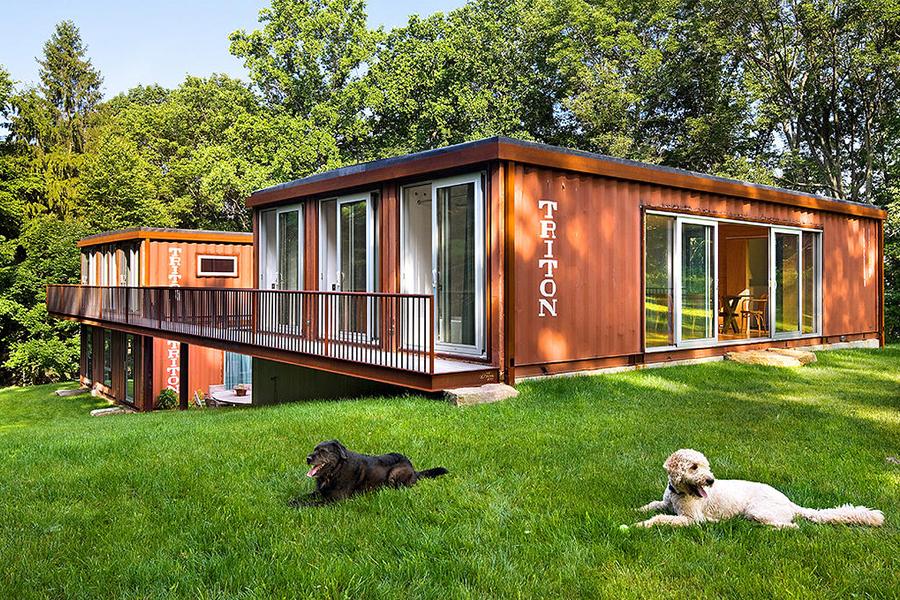 Quero uma casa container no campo