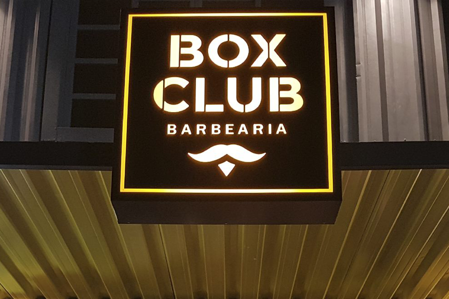 Rentcon – Locação de container para Box Club Barbearia