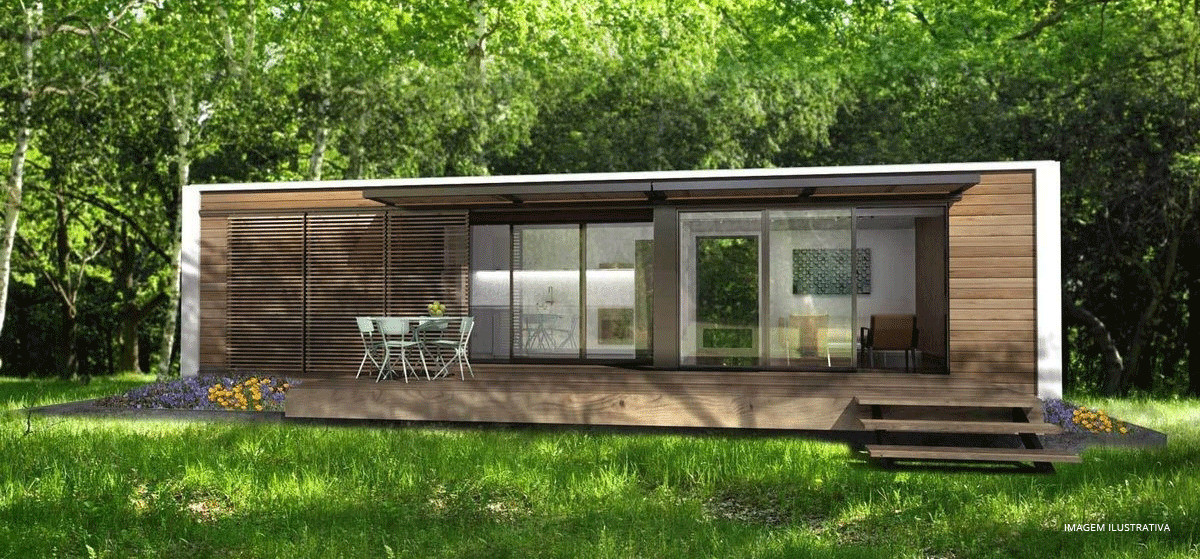 Casa Móvel Container Pronta E Mobiliada Rentcon Soluções