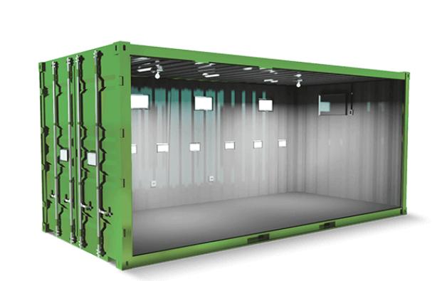 Alugar container para eventos é uma saída rentável