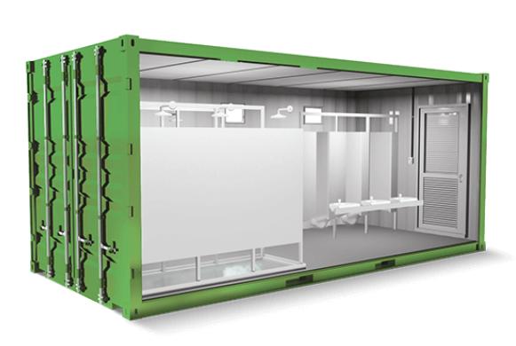 Alugar container para eventos é uma saída rentável.