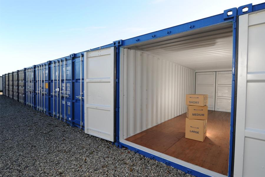 Depósito de container para Selfstorage.