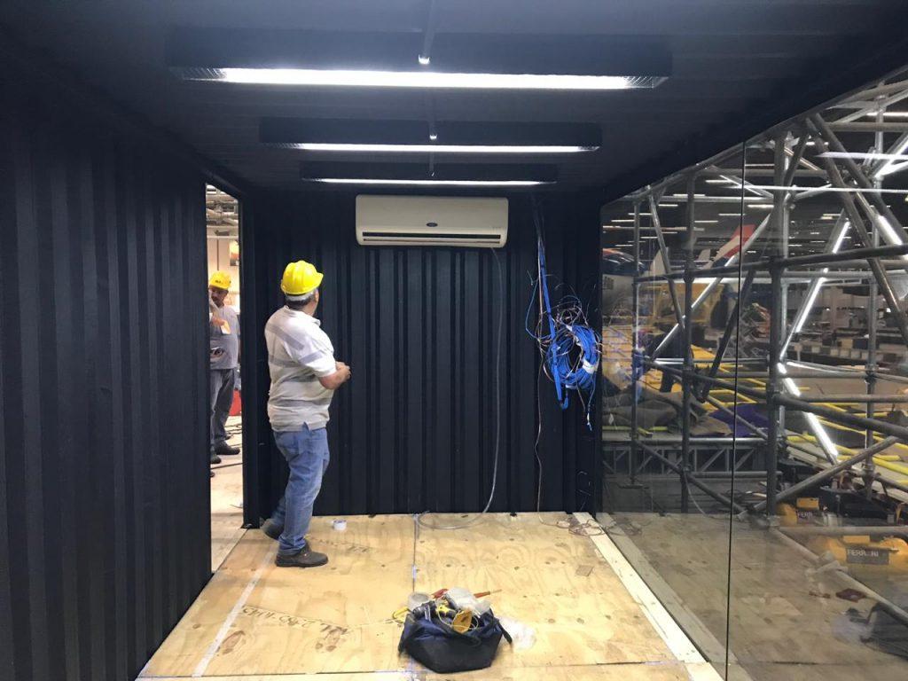 A versatilidade dos containers - A Ilha de Ferro