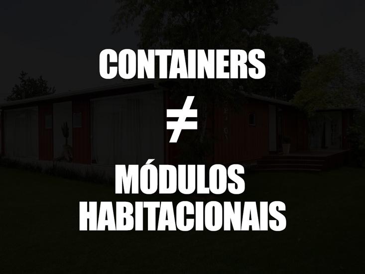Containers e Módulos Habitacionais: Saiba a diferença entre essas duas estruturas
