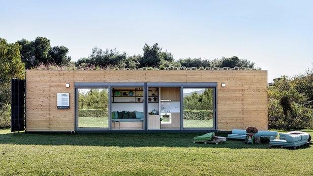 Containers viram casas modernas e com preços atraentes