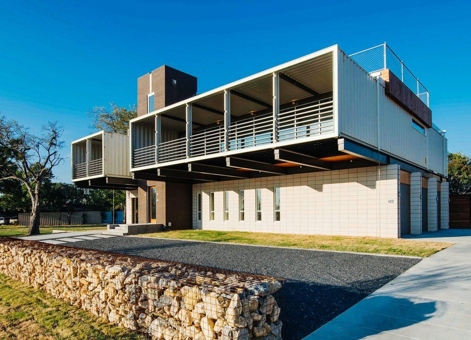 Containers viram casas com apelo moderno e preços atraentes! – Rentcon