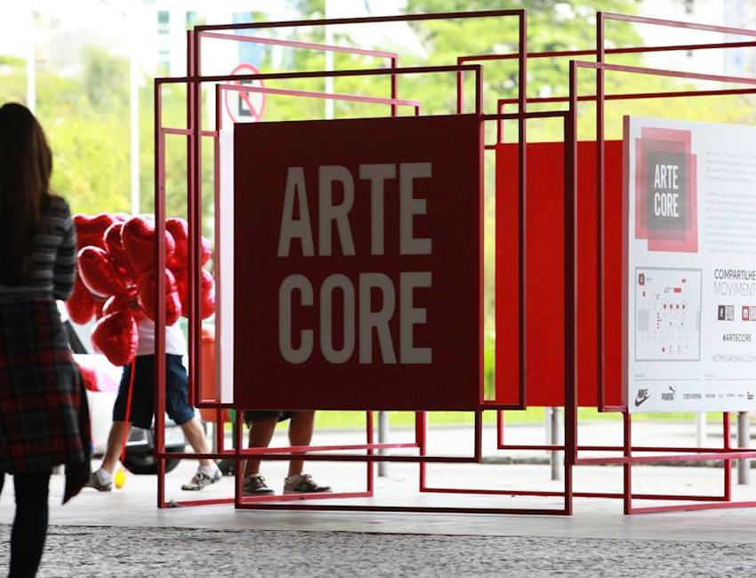 Rentcon Containers Eventos Arte Core - Realizado no MAM_01